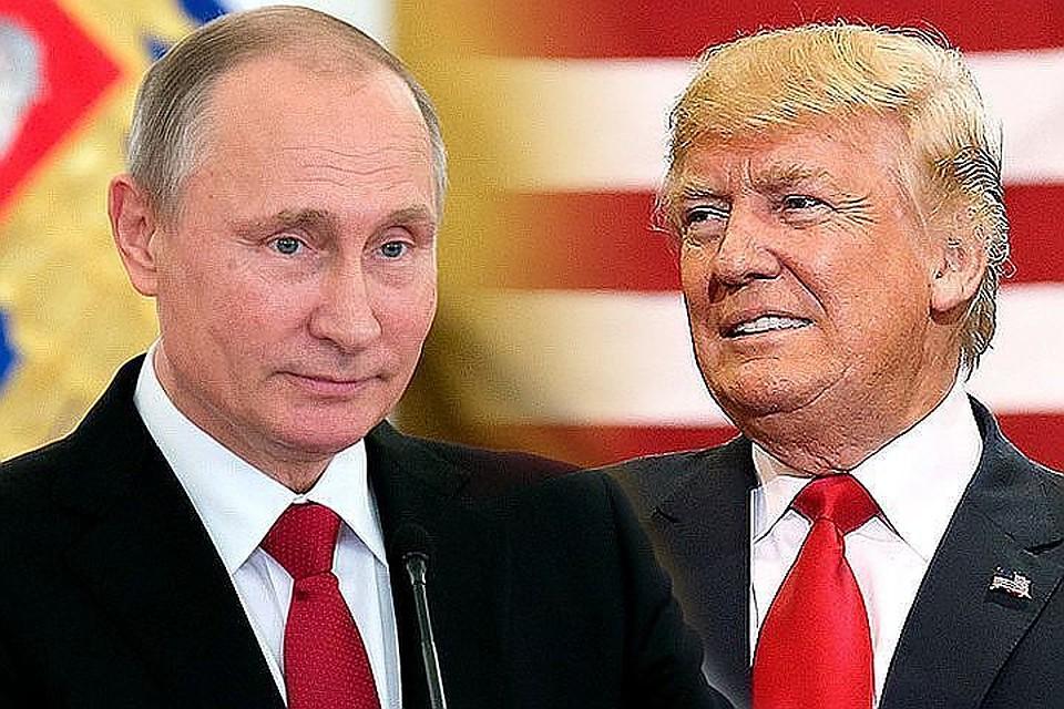 """""""Встречу нужно проводить"""", - в Кремле сообщили, что Путин получил приглашение Трампа посетить Вашингтон"""