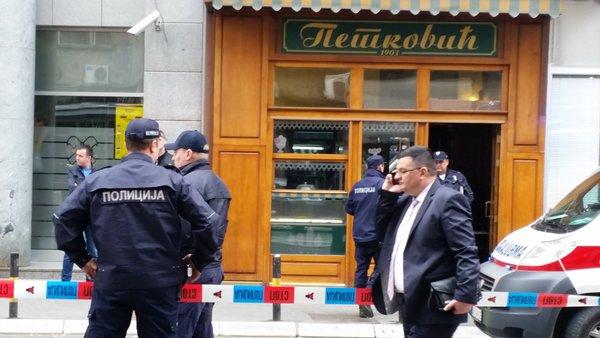 Сербский самоубийца подорвался ручной гранатой в кондитерском магазине Белграда