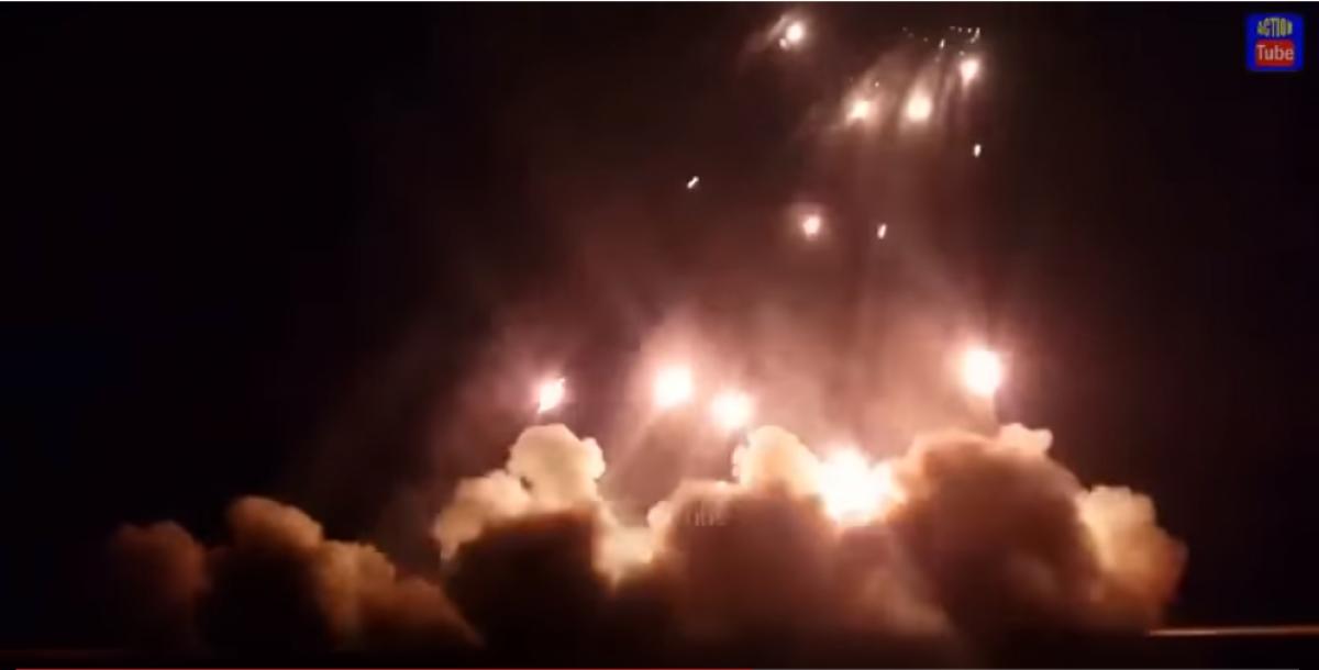 Армия Турции залпом из РСЗО ночью накрыла позиции асадитов под Алеппо, видео