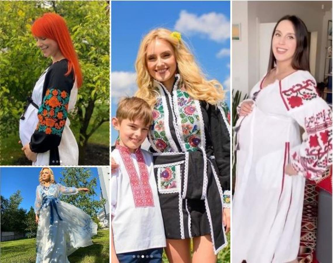 День вышиванки 2020: Ольга Сумская, Ирина Федишин, беременные Джамала и Тарабарова поздравили украинцев в национальных нарядах
