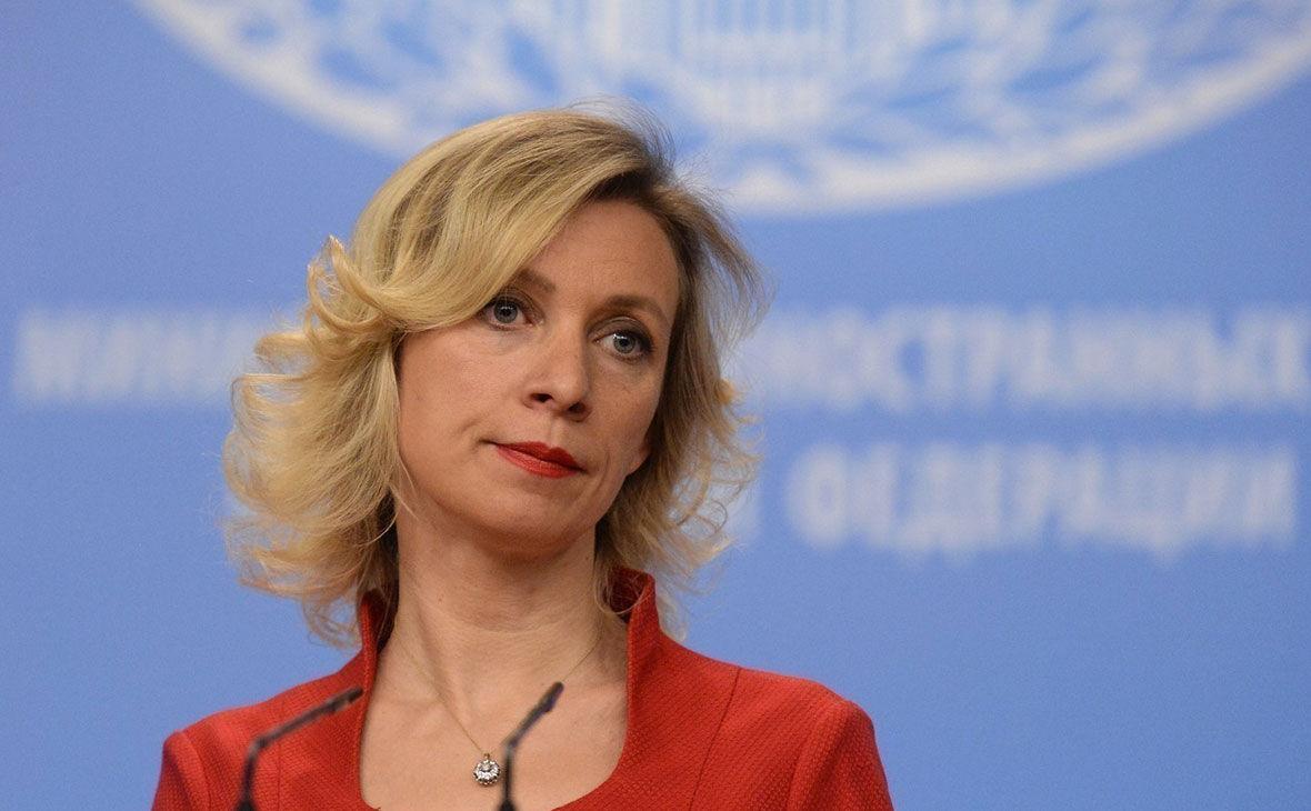 """""""Они подыгрывают Киеву"""", – Захарова обвинила НАТО в подстрекательстве к обострению на Донбассе"""