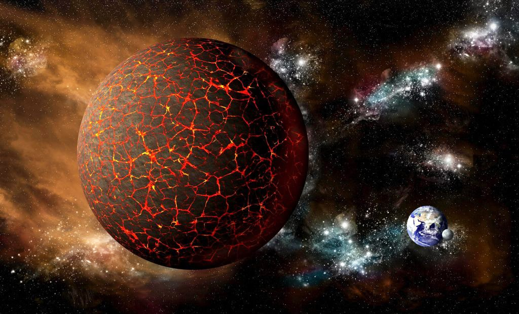 Два солнца над Соединенными Штатами Америки: мифическая планета Нибиру уже рядом - кадры