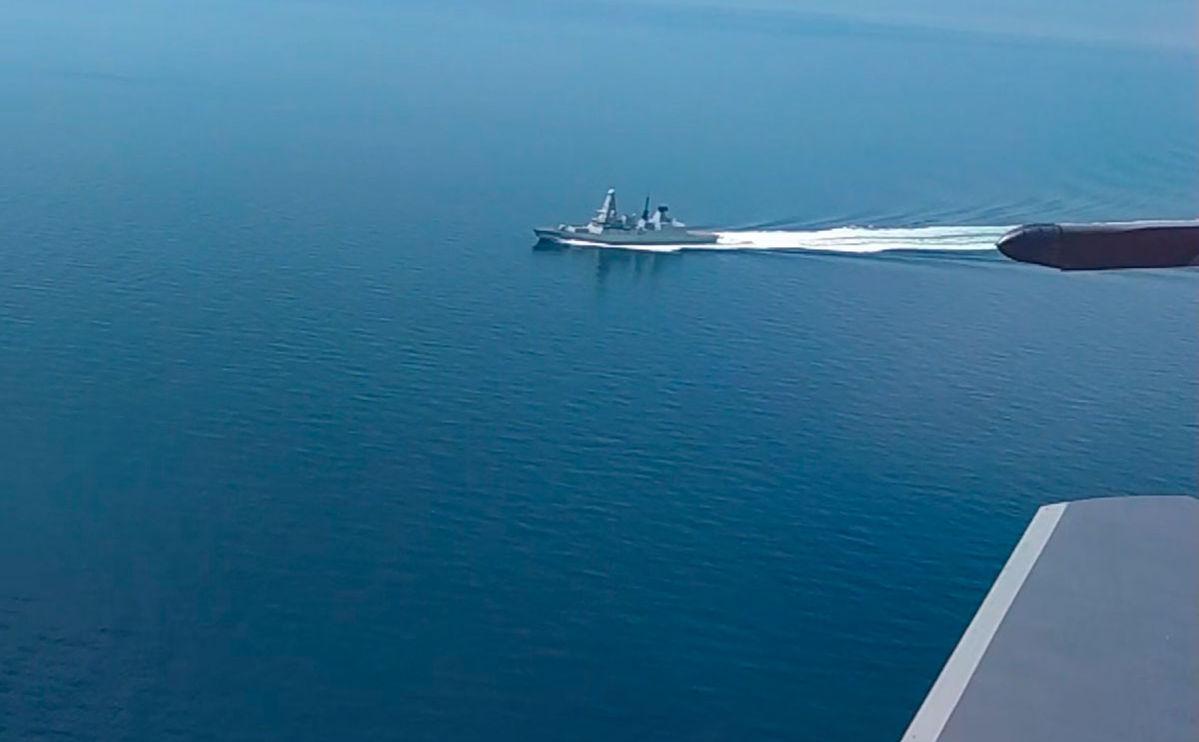 Проход британского эсминца в Черном море: СМИ узнали, кто принял решение