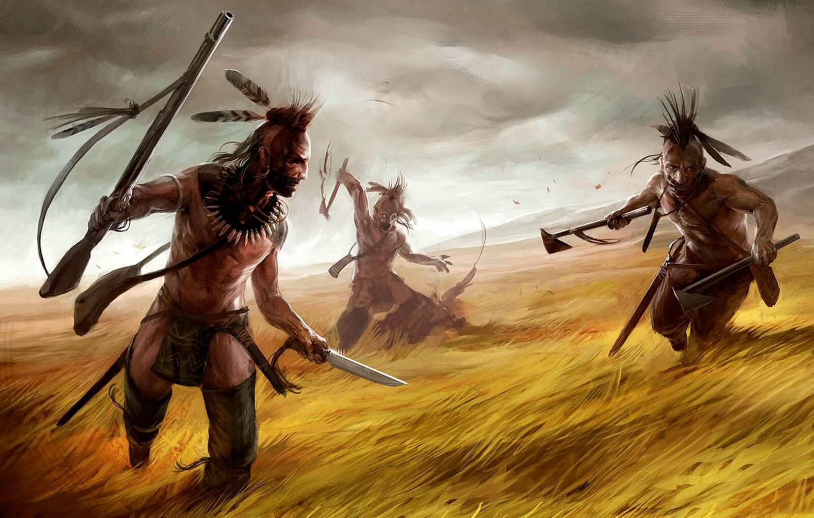 Древние рисунки индейцев апачи доказали существование инопланетян