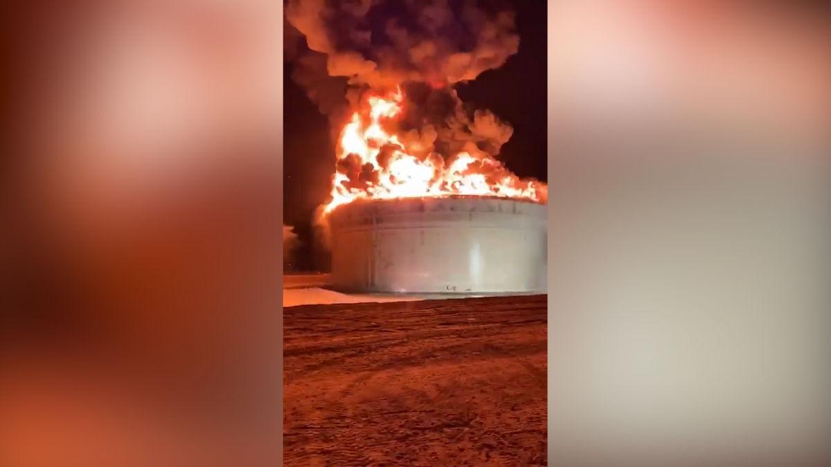 Удар ХАМАСА по Израилю: горят нефтяные резервуары, число жертв растет