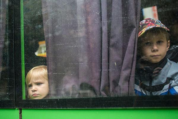 Воспитанников Макеевского дома ребенка эвакуировали