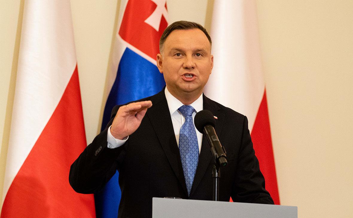 """""""Должны быть частью"""", – Дуда призвал Европу """"убрать занавес"""" и принять Украину в ЕС"""