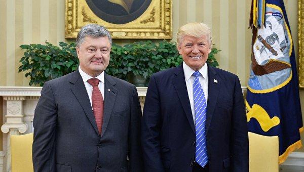 """Блестящий разговор с Трампом! Он спросил: """"Петр, чем тебе помочь?"""" Это позиция настоящего лидера, партнера и друга Украины, - Порошенко"""
