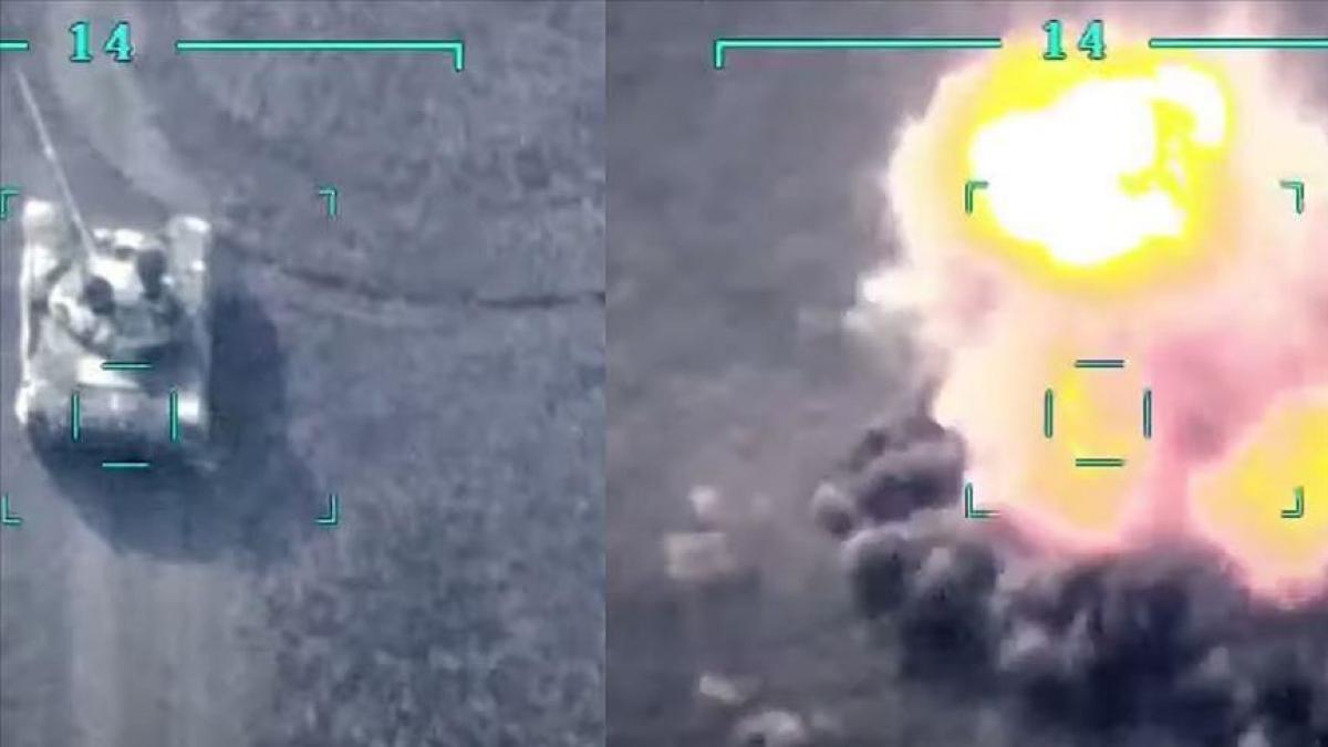 Азербайджан ударил по ВС Армении из супероружия – баражируещего боесприспаса Iti Qovan