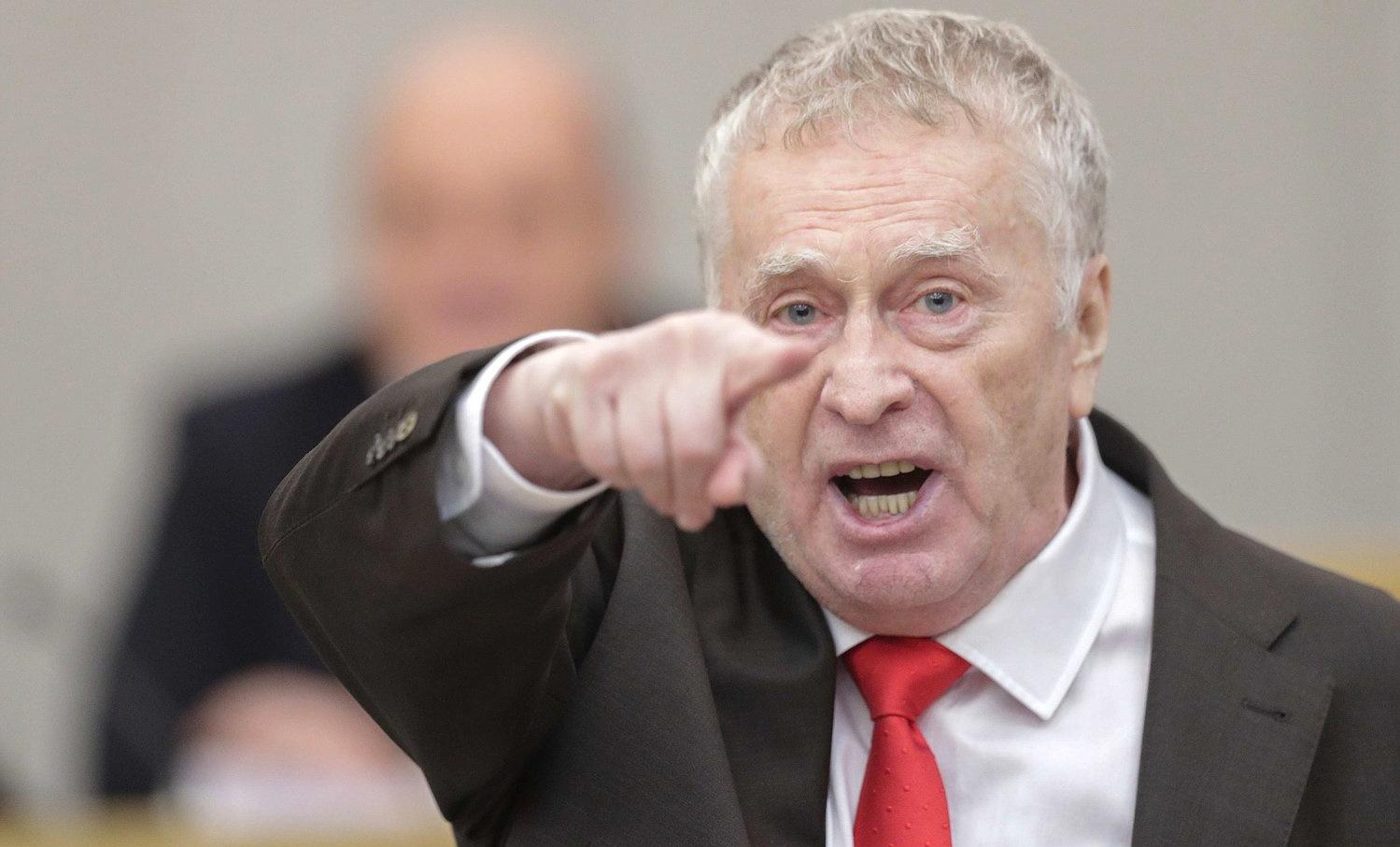 """Жириновский призвал """"освободить"""" Украину от """"внешнего управления"""": """"Только военная операция!"""""""