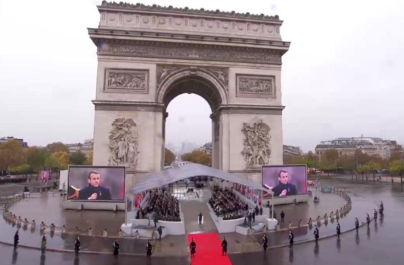 Порошенко с мировыми лидерами чтят 100-летие окончания Первой мировой войны - онлайн-трансляция