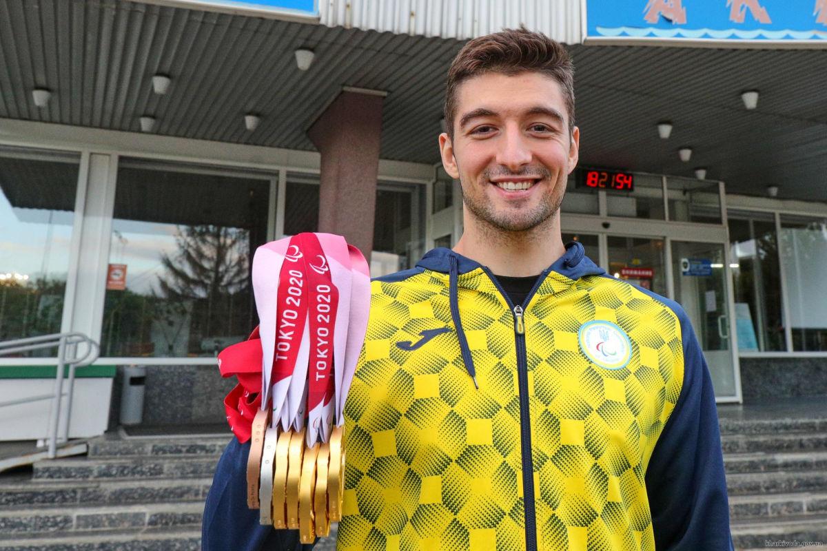 Впервые в истории самым титулованным атлетом Паралимпиады стал украинский пловец
