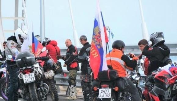 Крымский мост, Крым, Азовское море, Черное море, нарушения, ПДД, Ночные волки