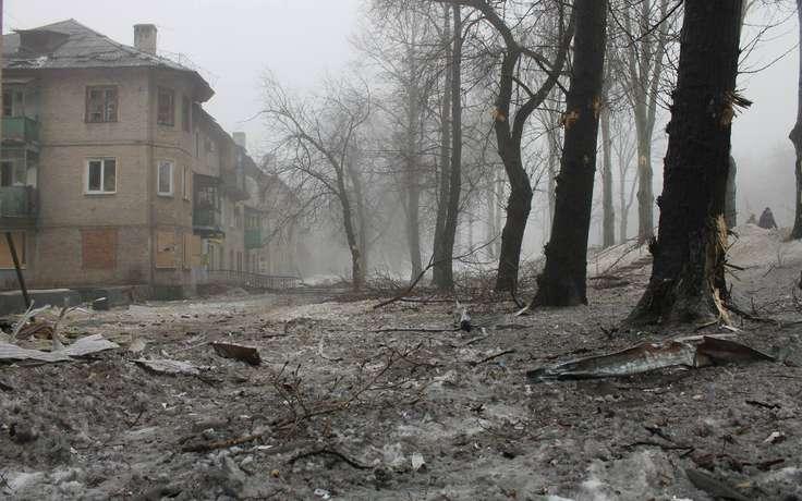 Горсовет: В Донецке погибли два мирных жителя, бои не прекращаются
