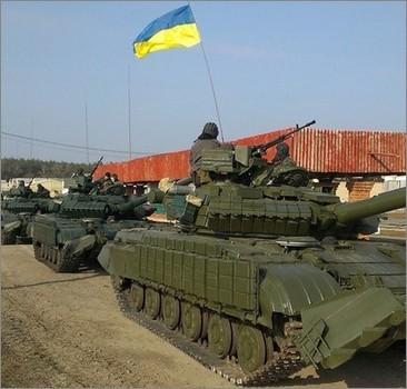 Силы АТО вошли в Луганск?