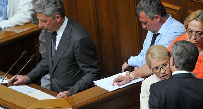 """Тимошенко, Бойко и Ляшко объявляют """"крестовый поход"""" против власти, – Нусс"""