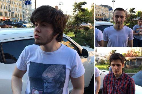 Стало известно, кто избивал Мустафу Найема в центре Киева: в СМИ попали фотографии всех нападавших - кадры