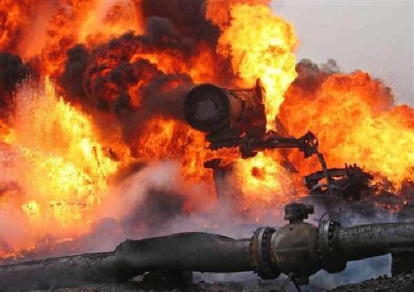 В Полтавской области раздался мощный взрыв на газопроводе – в соседних селах дрожали окна