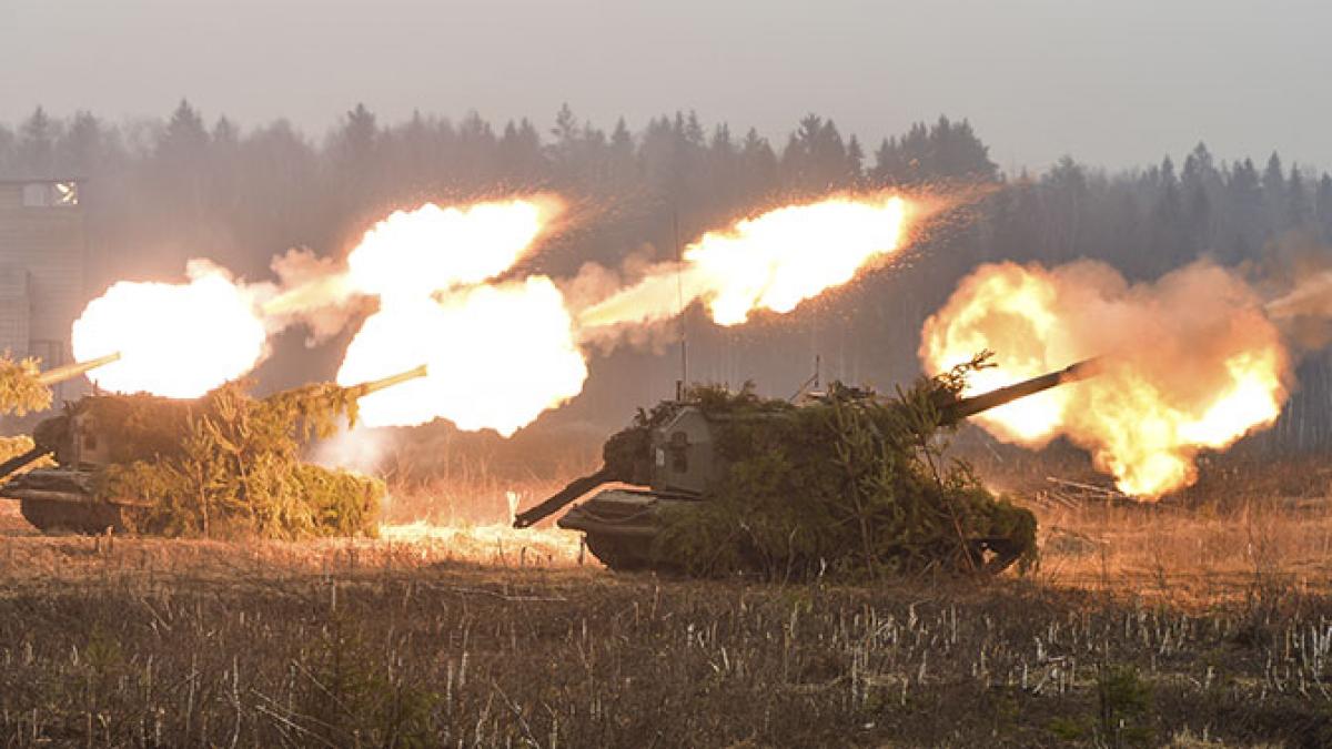 ВСУ накрыли позиции российских наемников ответным артиллерийским ударом: появилось видео