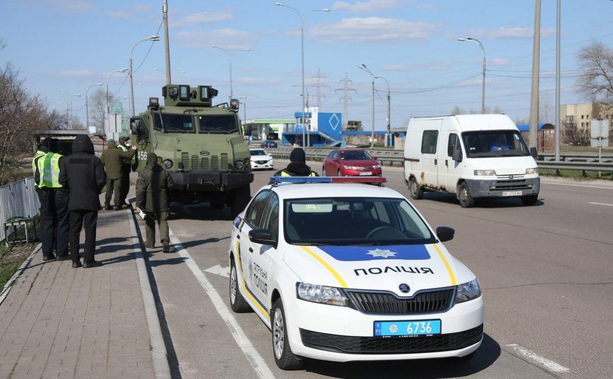 Киев перекроют: появилась карта 10 блокпостов на въездах в город, водителей предупредили о пробках