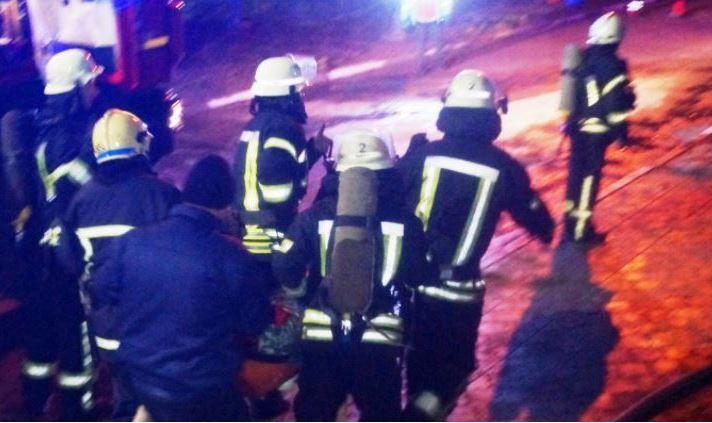 В Запорожье загорелся корпус инфекционной больницы – тушили 60 пожарных, есть погибшие