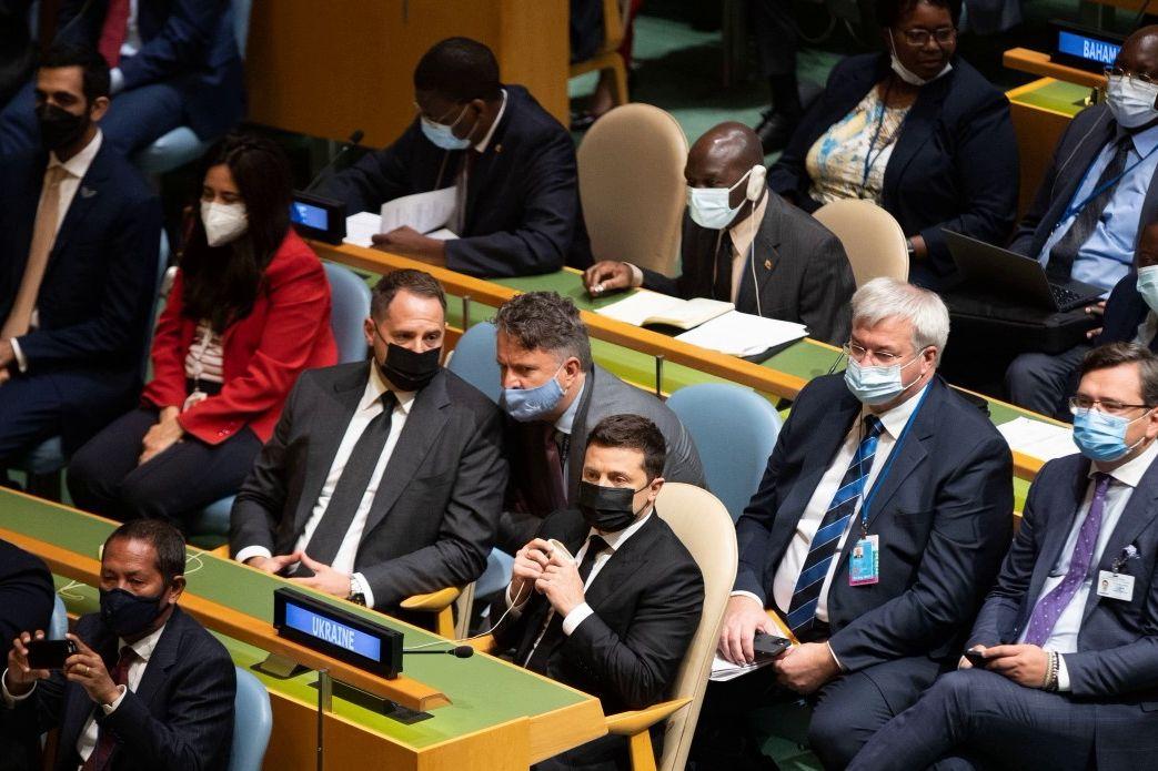 Зеленский в Нью-Йорке: кадры, как проходит визит президента Украины на сессию ГА ООН