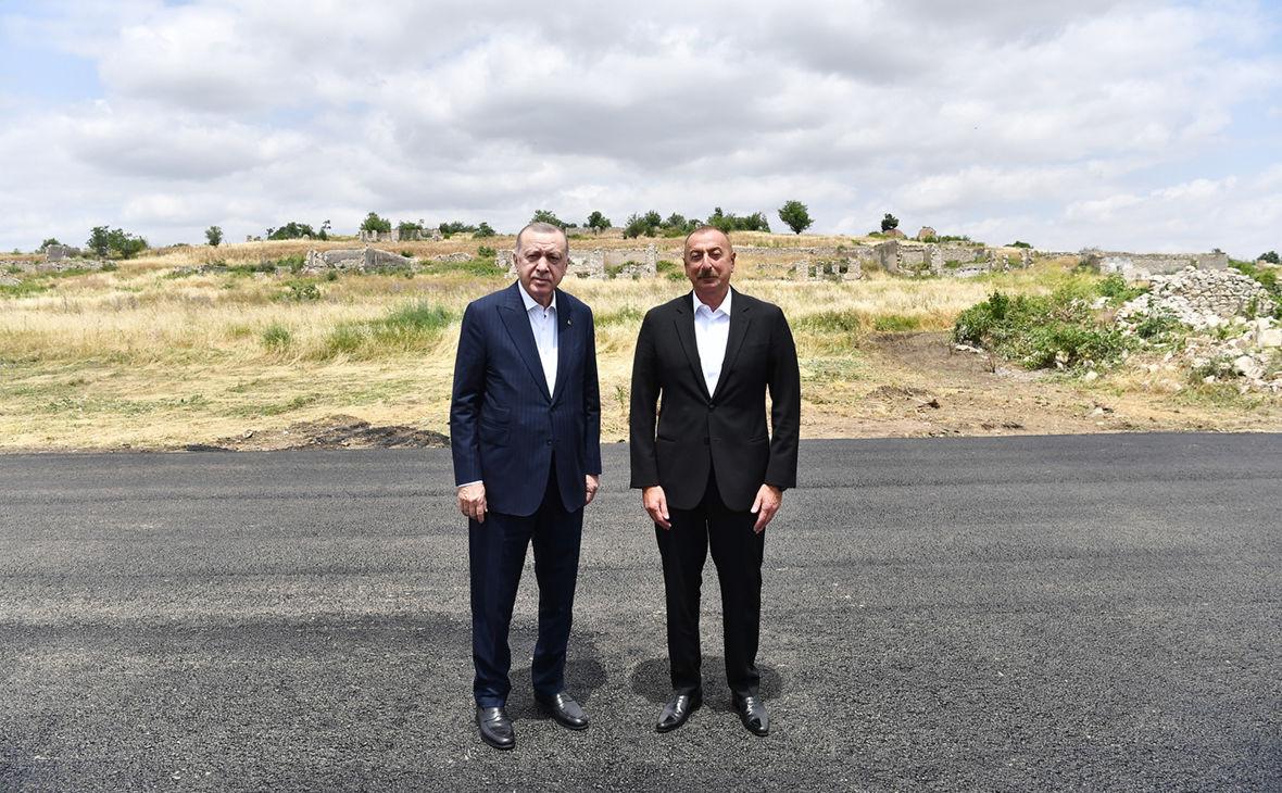 Эрдоган раскрыл планы Турции и Азербайджана в Карабахе после подписания Шушинской декларации