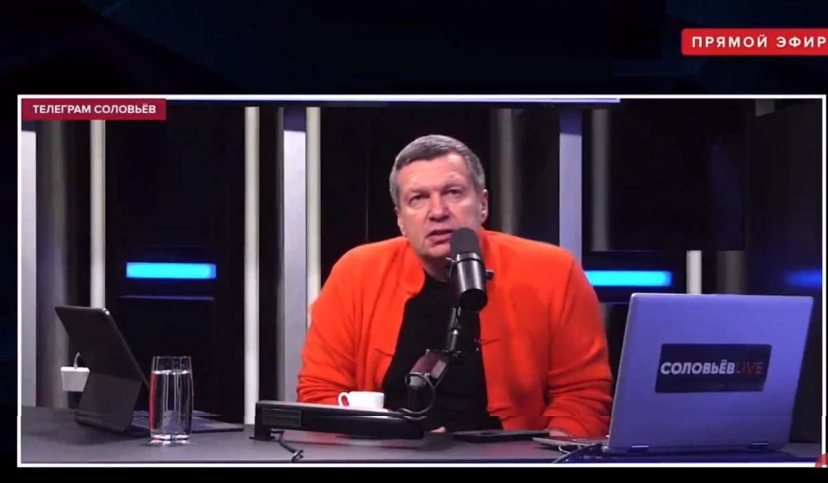 Соловьев возмутил Сеть заявлением в прямом эфире: опубликовано видео