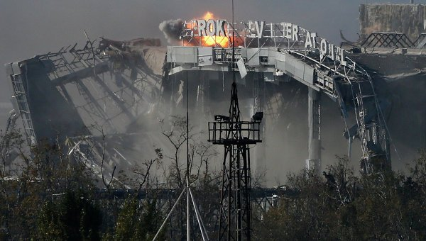 аэропорт донецка, взрыв, дап, донецк, днр, происшествия, соцсети, что взорвалось в донецке
