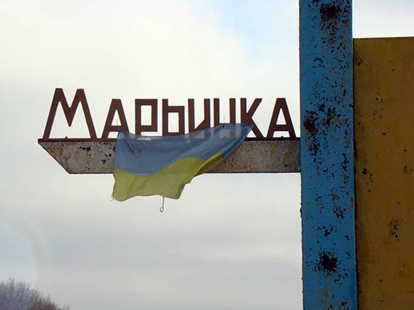 Террористы совершили жесткую атаку на жилые кварталы Марьинки: в силах АТО невосполнимая потеря