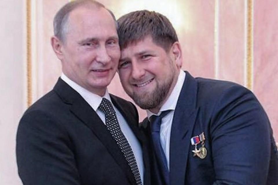 """""""Вечный президент"""", - Кадыров неистово и преданно пожелал Путину пожизненно управлять Россией, назвав его """"супергероем"""""""