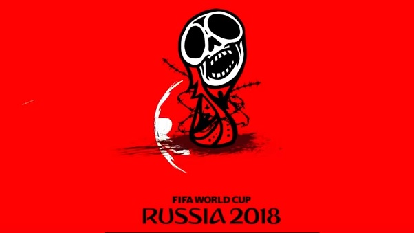 ЧМ-2018, чемпионат мира, футбол, бойкот Planning to go to the 2018 FIFA World Cup in Russia? Make sure you understand that you are sponsoring wars, crime, and terror.