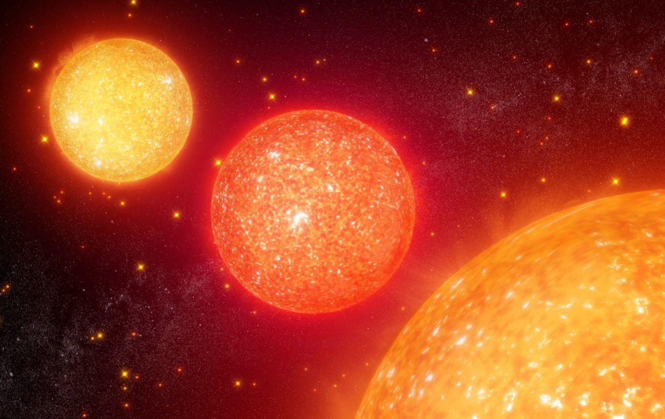 Телескоп NASA записал беспрецедентную симфонию красных звезд-гигантов