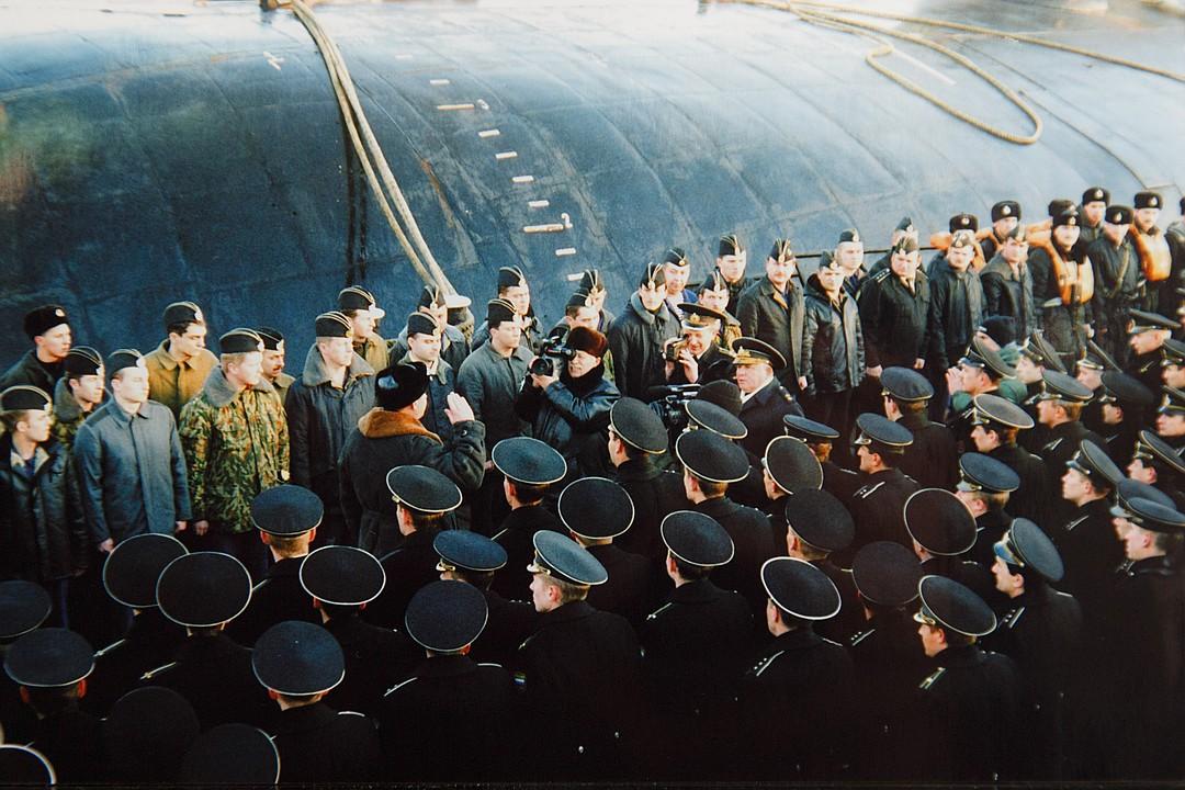 глубого подводная лодка курск фото экипажа ноябре совет