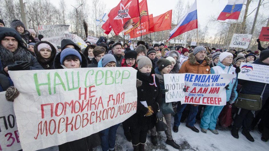 """Люди поднялись против Путина и """"Единой России"""": 30 тысяч граждан вышли на митинг в Приморье – кадры"""