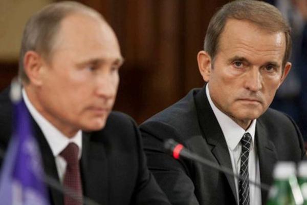 медведчук, путин, россия, зеленский, скандал, украина