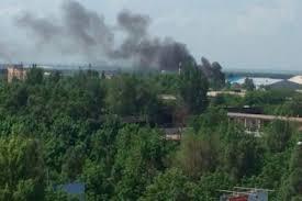 Донецк: обстрел проспекта Панфилова