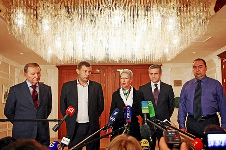 Начали с малого: на переговорах в Минске Украина требовала РФ вернуть часть оккупированных территорий Донбасса
