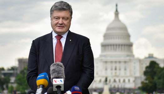 Порошенко в Вашингтоне договорился о более активном участии властей США в минском и нормандском процессах