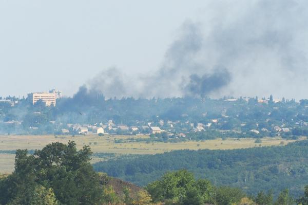 Российские СМИ: украинские танки прорвали оборону ополчения