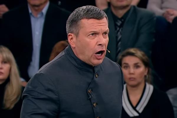 Соловьев, Россия, пропагандист, Бандера, ВСУ