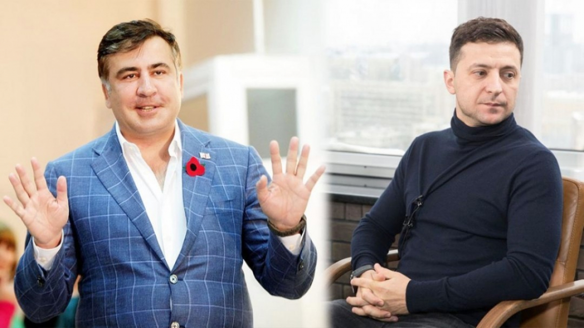 "Диалог Саакашвили со ""слугами народа"": президент Зеленский не явился на встречу, детали"
