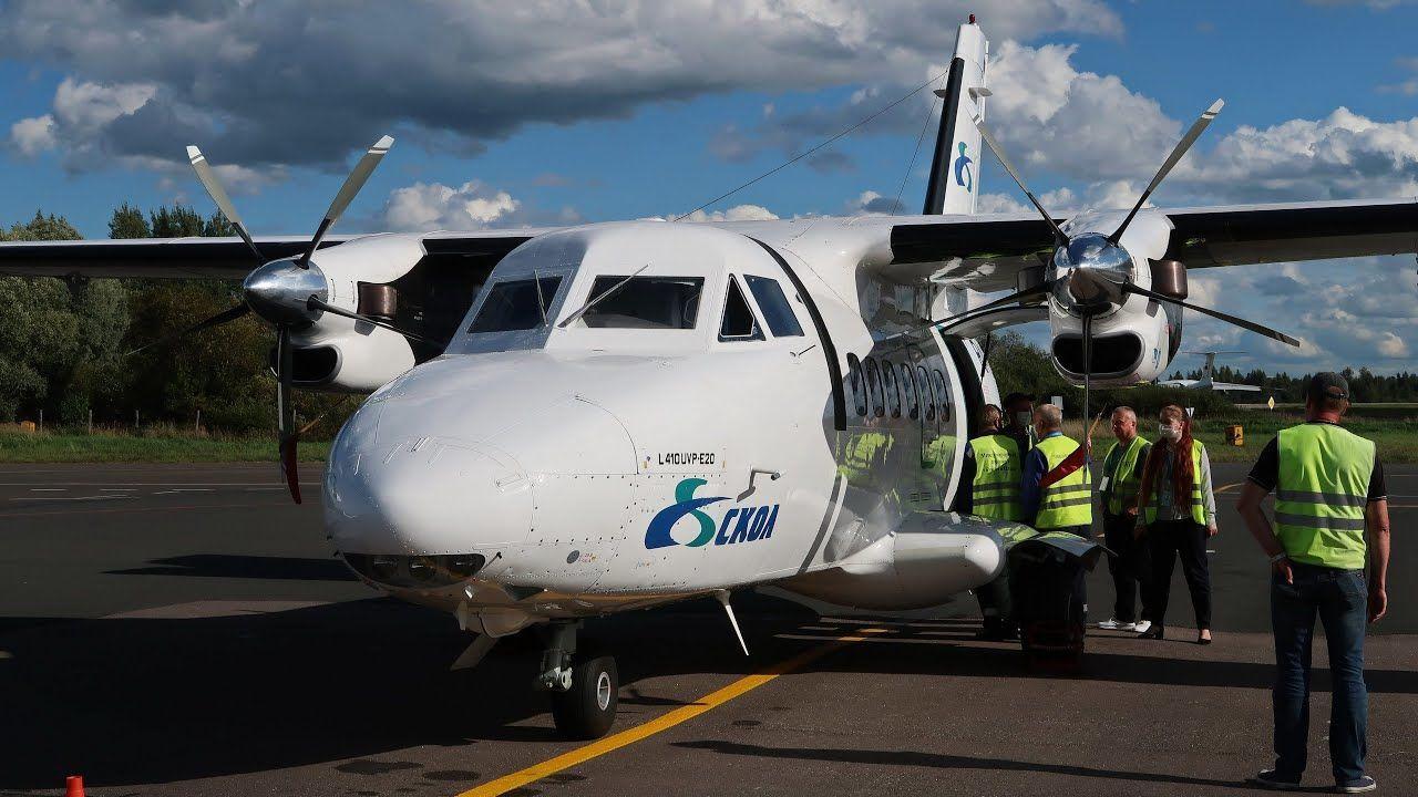 Показаны остатки рухнувшего под Иркутском самолета L-410, в котором пассажиров зажало металлом
