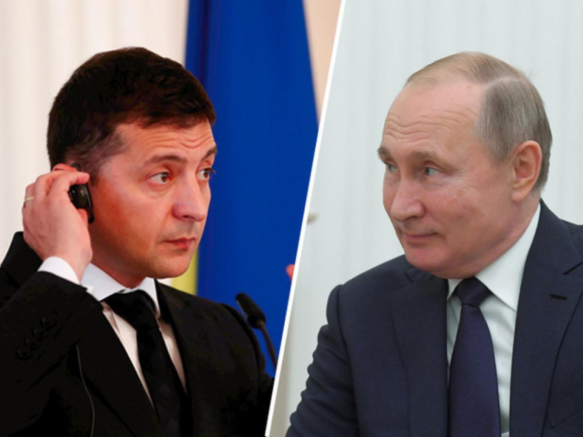 Украина, Путин, Нормандская встреча, Зеленский, Донбасс.