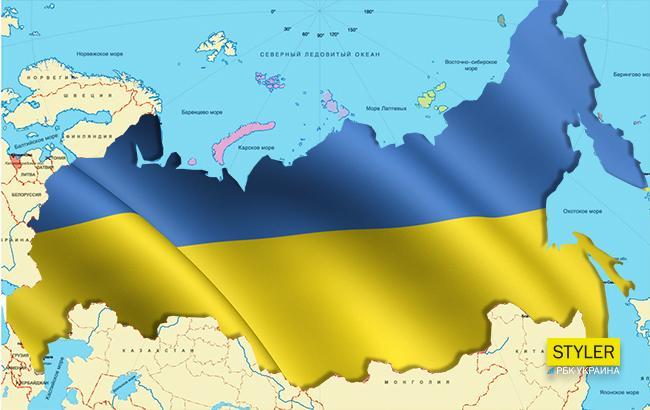 """""""Карта неполная: там нет украино-китайской границы"""", - соцсети бурно обсуждают новую карту Европы, на которой нет России, – кадры"""