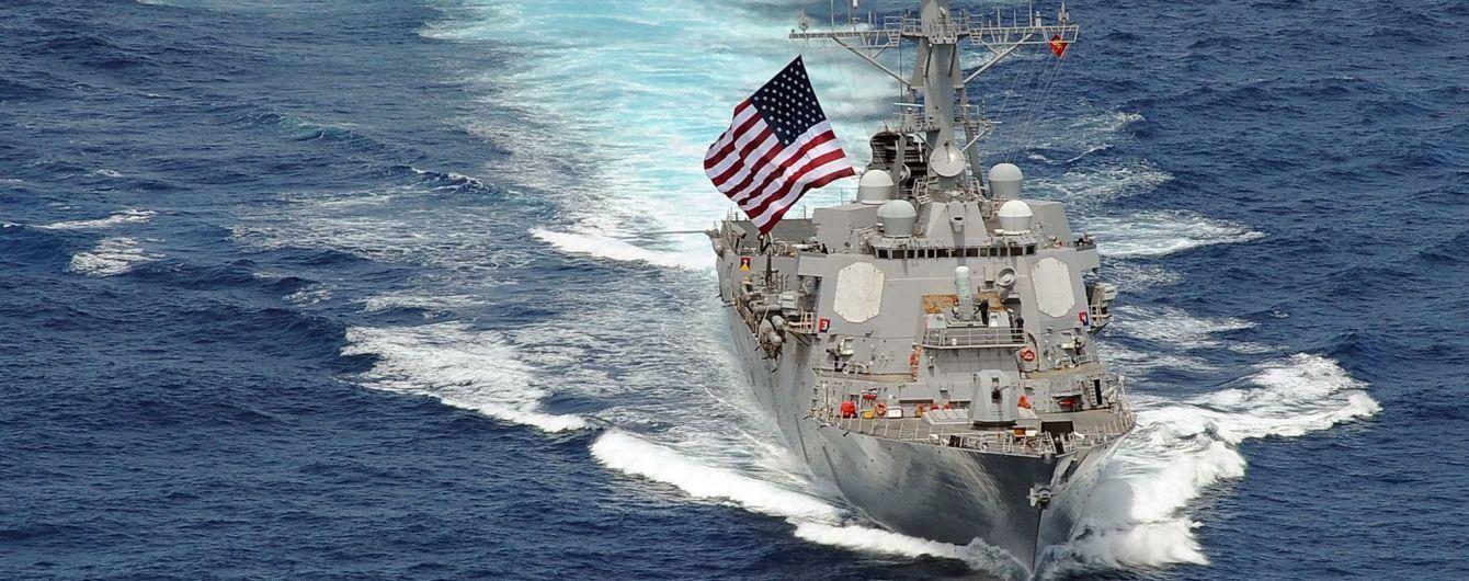ВМФ России, ВМФ США, Разведывательный корабль, Эсминец, USS Farragut, Аравийское море, Провокация, Видео