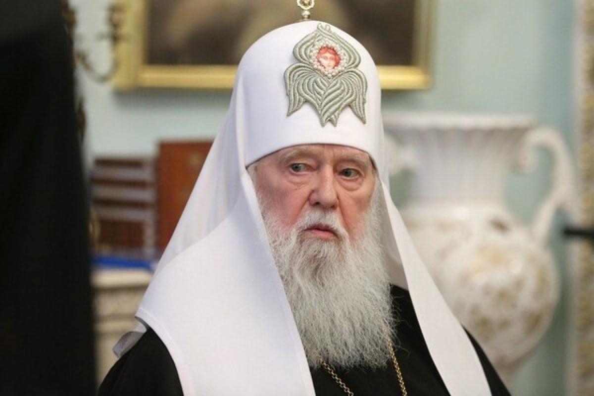 Патриарх Филарет,  видео, Коронавирус, COVID-19, Украина