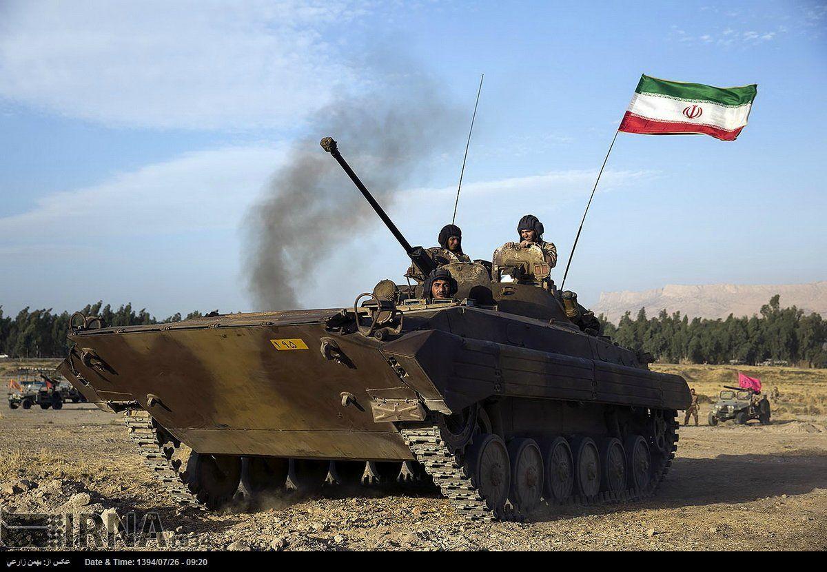 Иран перебросил к Азербайджану легендарную дивизию и технику, предназначенную для наступления