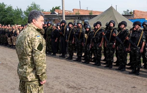 Петр Порошенко: критика мобилизации не имеет никакого отношения к свободе слова