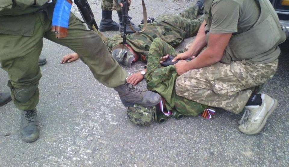 Батальон «Азов» взял в плен 11 ополченцев